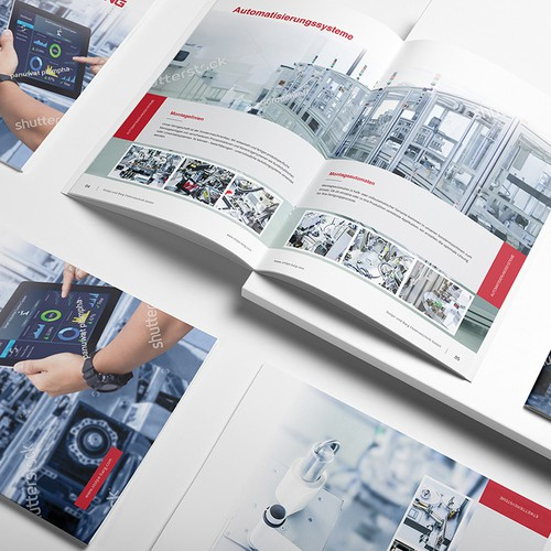 Brochure for Automation Industry