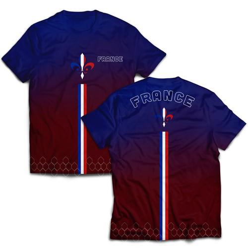 T-Shirt France Theme