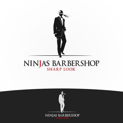 Create a modern and professional barber Ninja!
