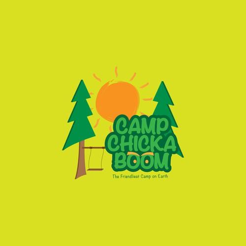 Logo Concept for Camp Chicka Boom
