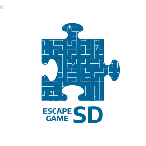Entry for an escape game company