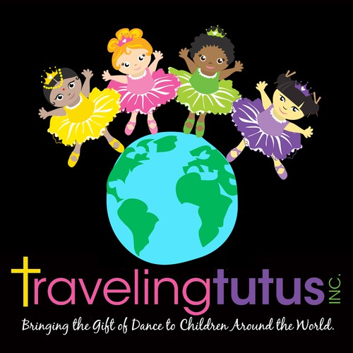 Create a fun non-profit logo to help children around the world dance!