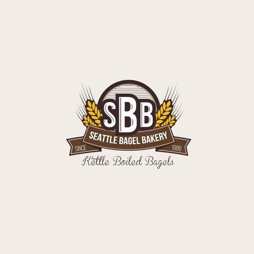 SEATTLE BAGEL BAKERY - Please Update our Logo & Make it Sexy!