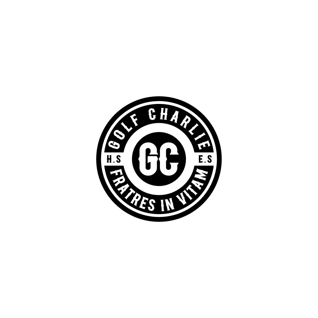 Edgy, minimal, adventurous, badass logo for Golf Charlie