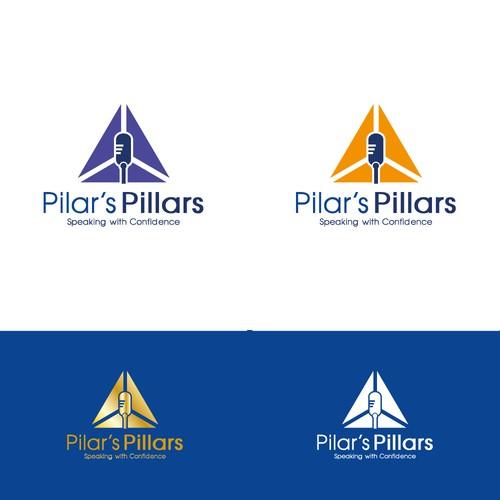 pilar's pillars logo winning concept