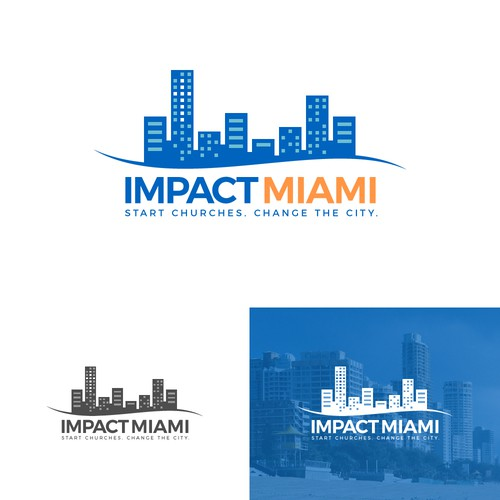 Strong logo for Miami Christian organization