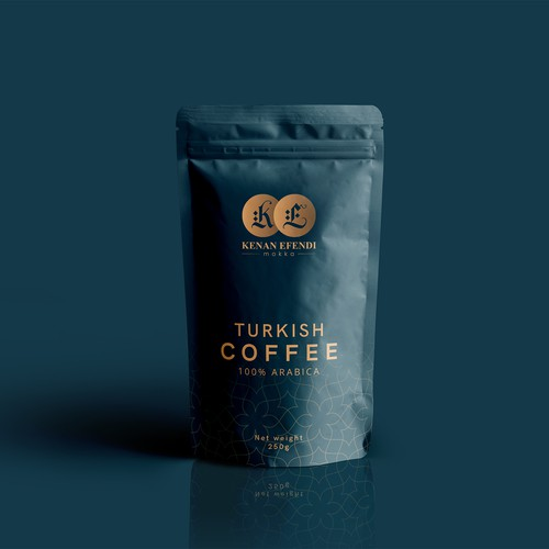 packaging design for Turkish coffee