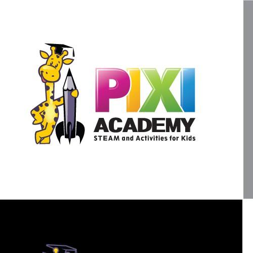 Logo concept for elite private school