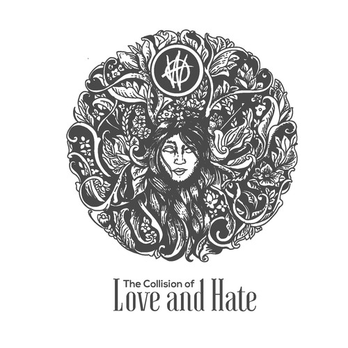 love and hate illus
