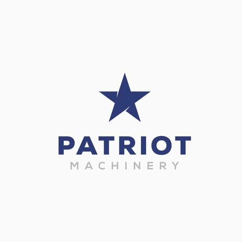 Patriot Machinery Logo Design Entry