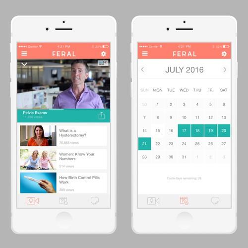 App design for FERAL