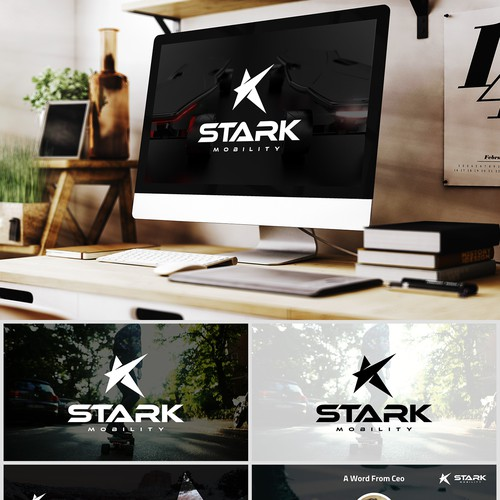 Shopisticated & Bold Concept for Startup Sport Company