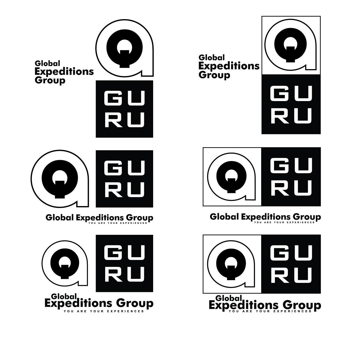 "Global Expeditions Group needs ""GURU"" logo"