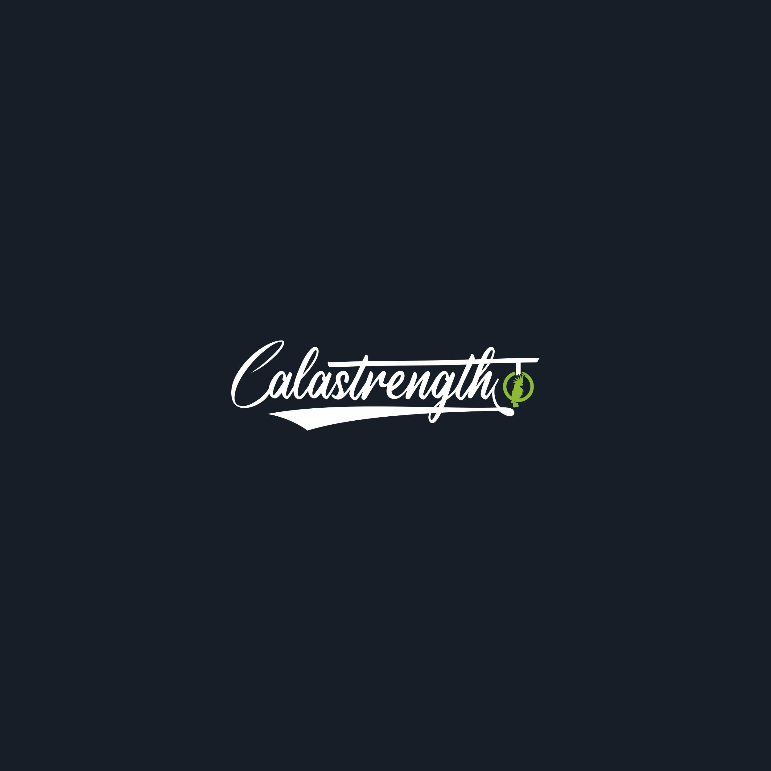 fitness brand logo for Calisthenic personal trainer/athlete