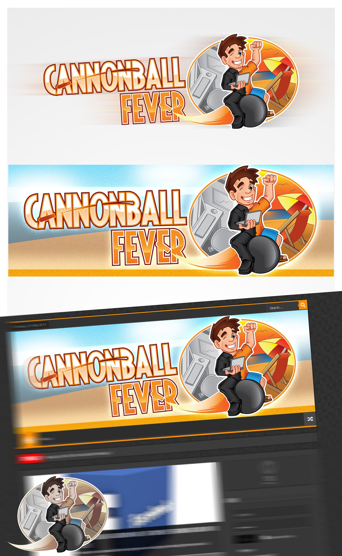 Cannonball Fever needs a new logo