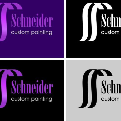 logo for Schneider Custom Painting