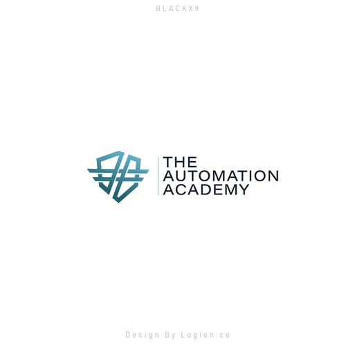 Logo Automation Academy v1 Design by Logion.co