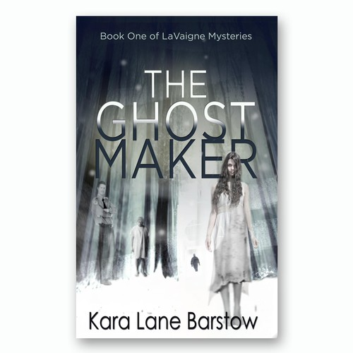 COver for Paranormal mystery series book 1