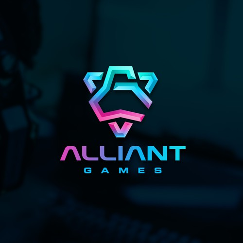 A vibrant new logo redesign for PC gaming community