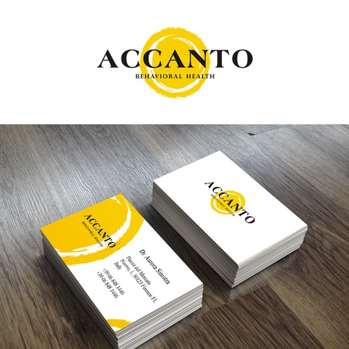 A simple, significant, abstract and mature brand mark.