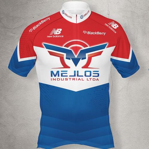 Cyclist Jersey Design