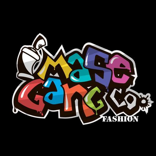 Graffiti style logo