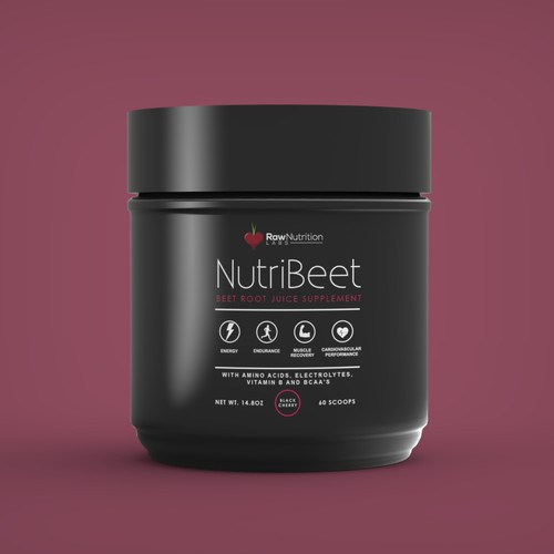 Label design for NutriBeet