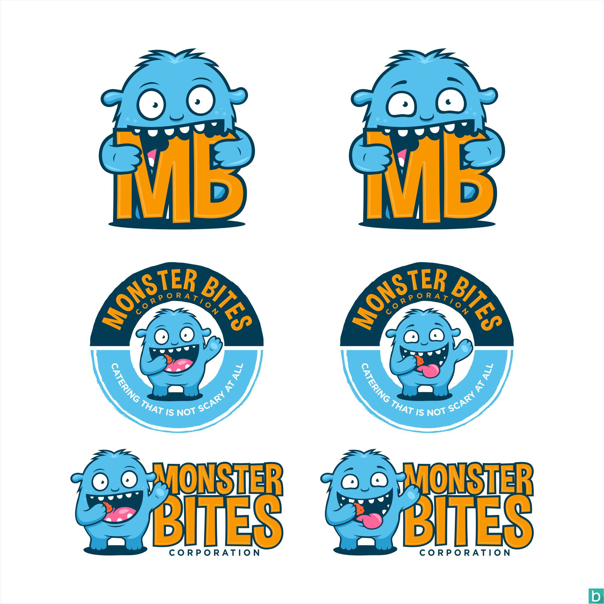 Monster Bites has a logo. Can you make it better?