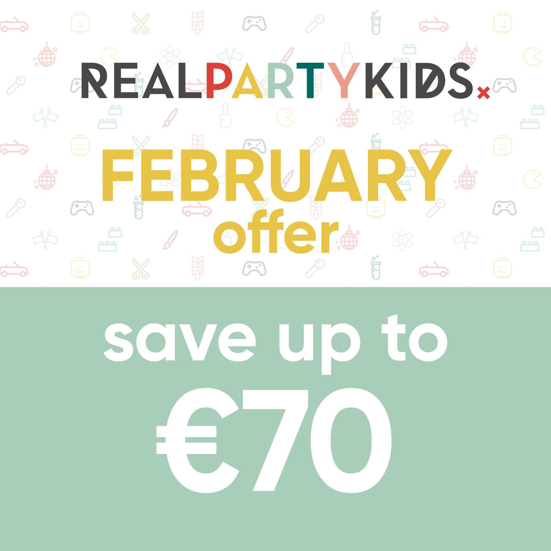 REALPARTYKIDSx Facebook Banner Ad Design