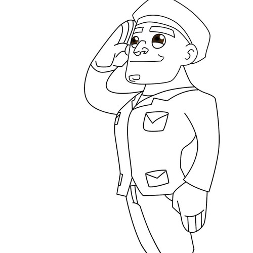 soldier not yet colored