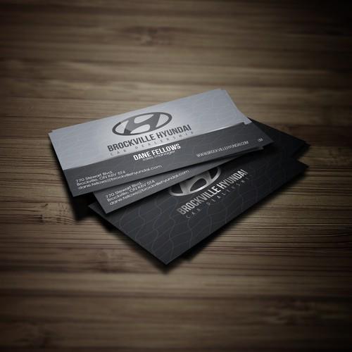 Business card Hyundai Brockville