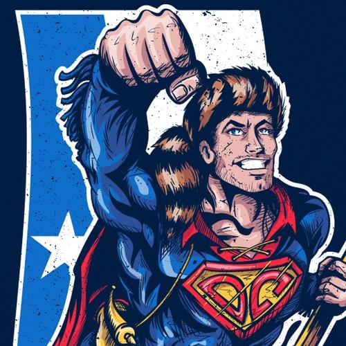 Design Davy Crockett as Superman!