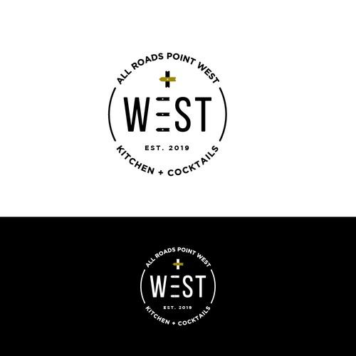 WEST logo design concept