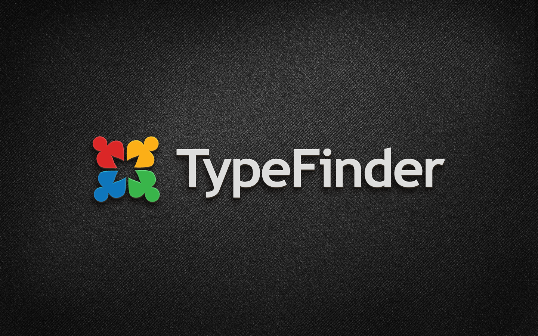 TypeFinder needs a new logo
