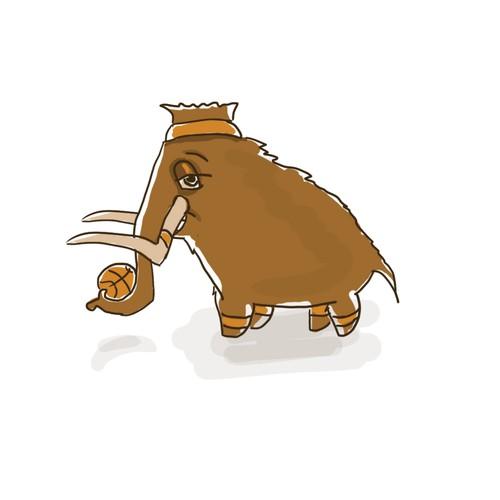 Mammoth Mascot
