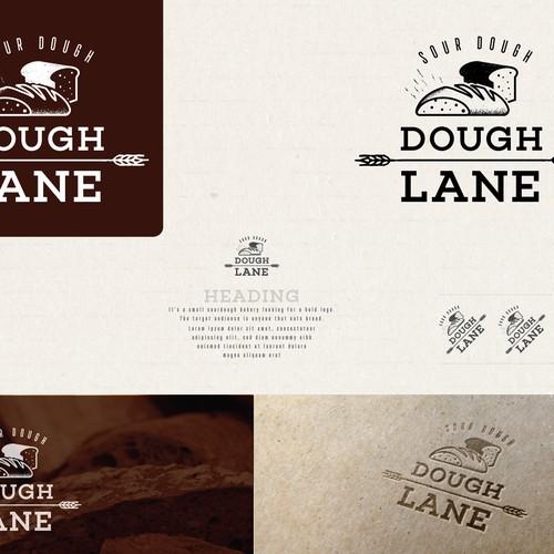 Sour dough small bakery logo