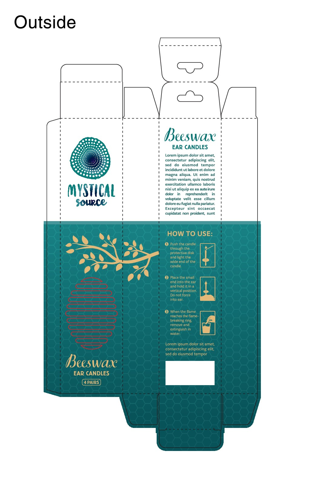 Mystical Source - packaging