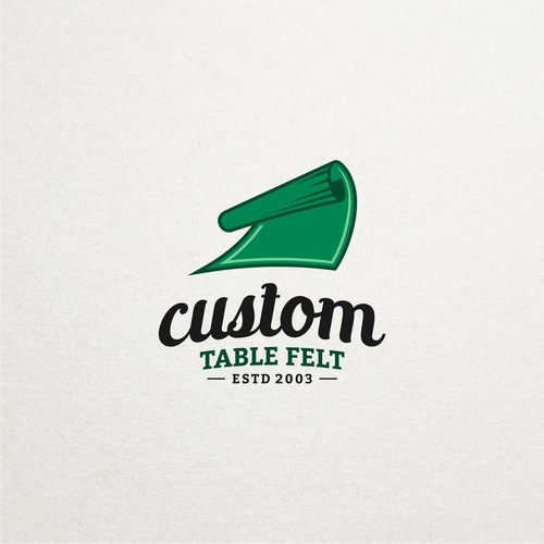 Table felt logo design contest entry