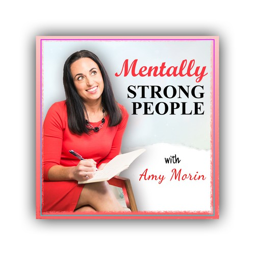 We need a catchy podcast cover for a self-help author!