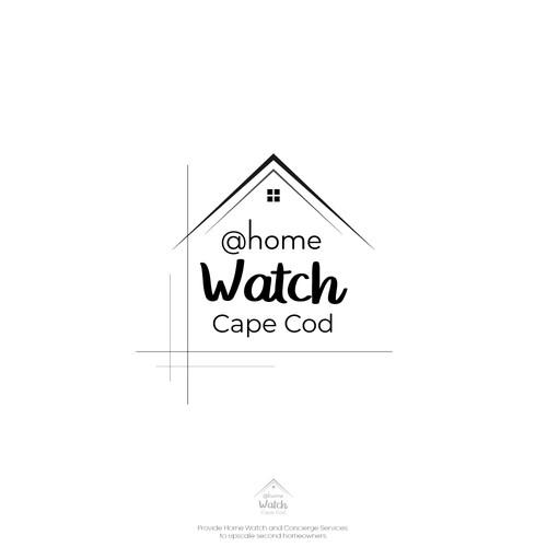 Trustable, Modern logo concept for a home watch logo