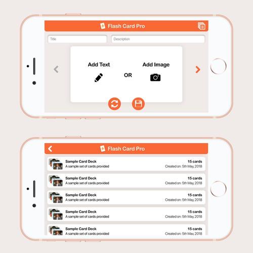 Flash Card App