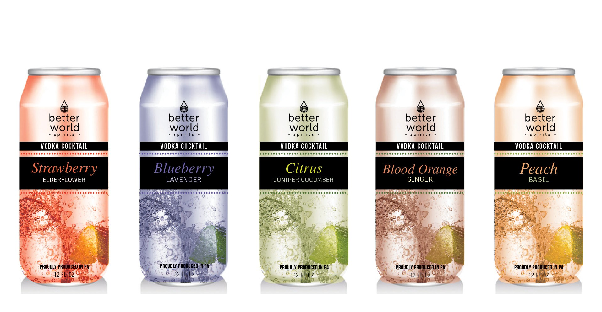 Design a label for artisanal canned cocktail