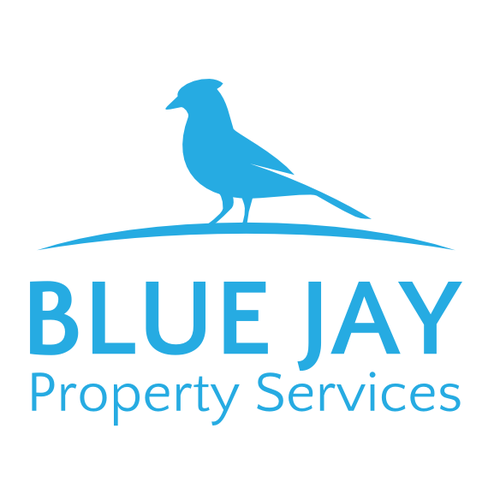Clean logo for property services