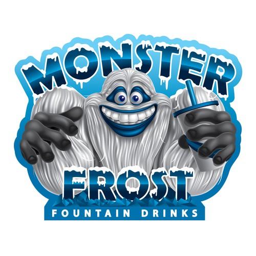 Mascot design for Monster Frost