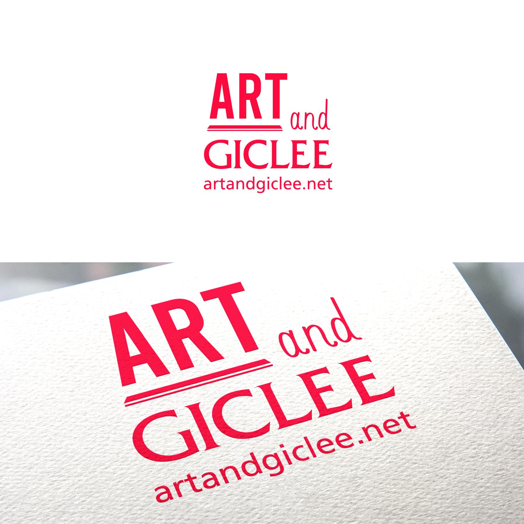 Art and Giclee Logo Design