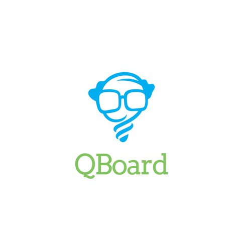 Logo design for QBoard.