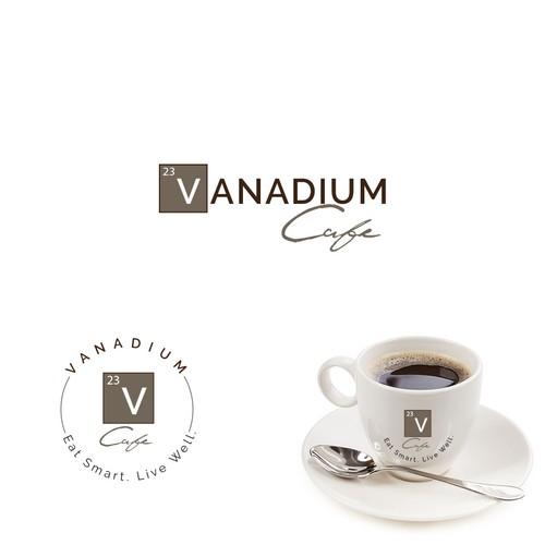 logo design for an upscale cafe