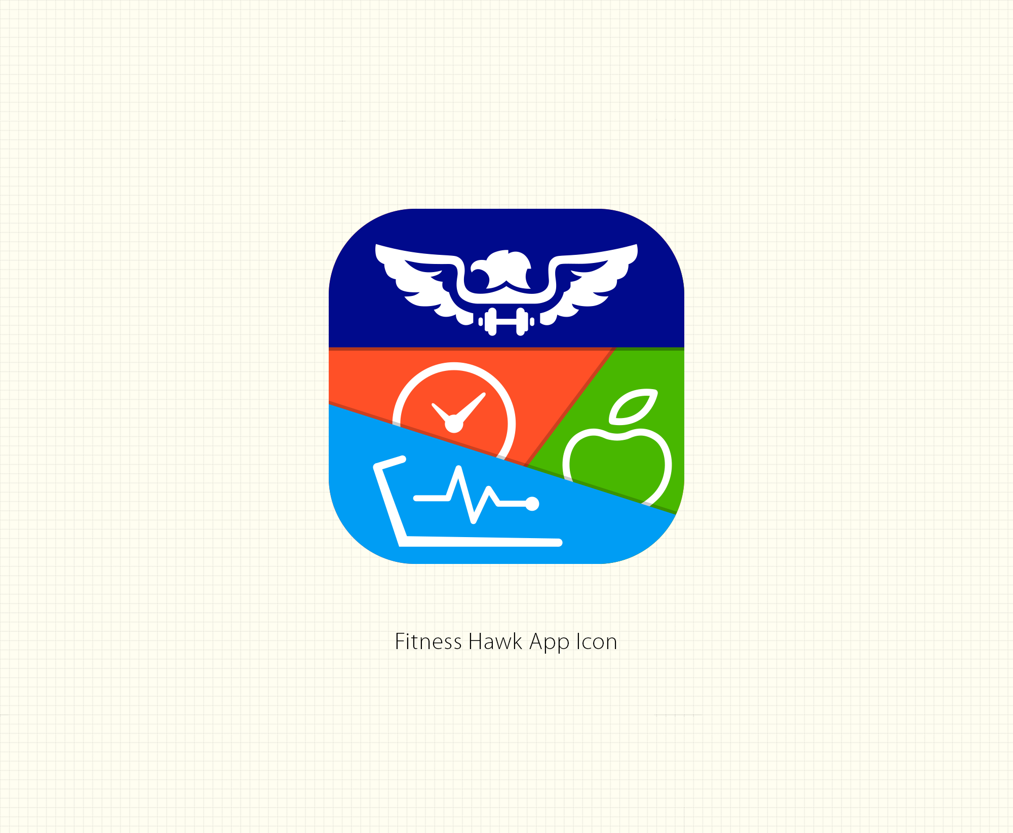 Recreate a Fitness App Icon