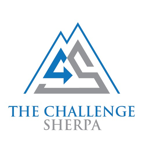 Bold logo for The Challenge Sherpa