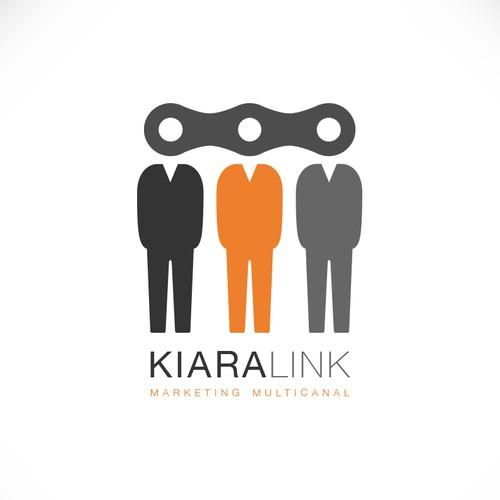 créer un logo dynamique pour une start up de conseil en marketing qui crée du lien